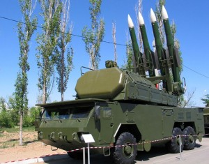 buk-m2e-soviet-vehicle-mounted-missile-launcher
