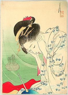 Tokyo Ladies and Style of Women in Japanese Art