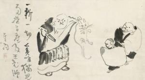 gibon_sengai-nanquan_chopping_the_kitten_in_two~OMc23300~10157_20080318_1978_134-4