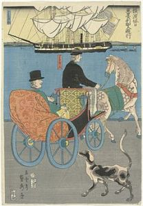239px-Amerikaan_op_een_uitje-Rijksmuseum_NG-663-4