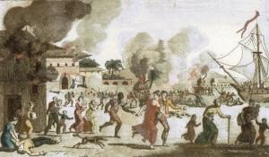 haiti-burning-of-cap-francais